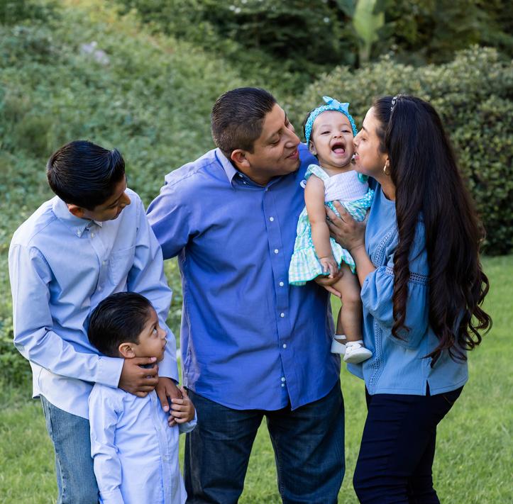 Sebastiana and family