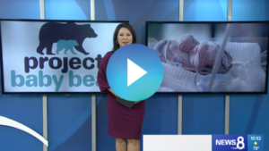 Video thumbnail of Marcella Lee from CBS8 introducing her story on Project Baby Bear