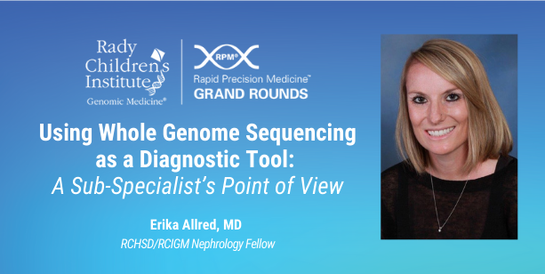 Using Whole Genome Sequencing as a Diagnostic Tool: A Sub-Specialist's Point of View