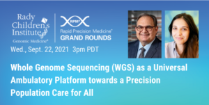 Whole Genome Sequencing (WGS) as a Universal Ambulatory Platform towards a Precision Population Care for All
