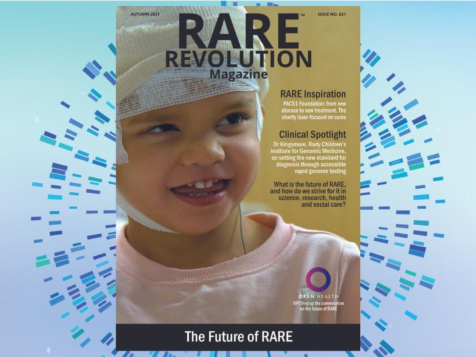 RARE Revolution magazine cover